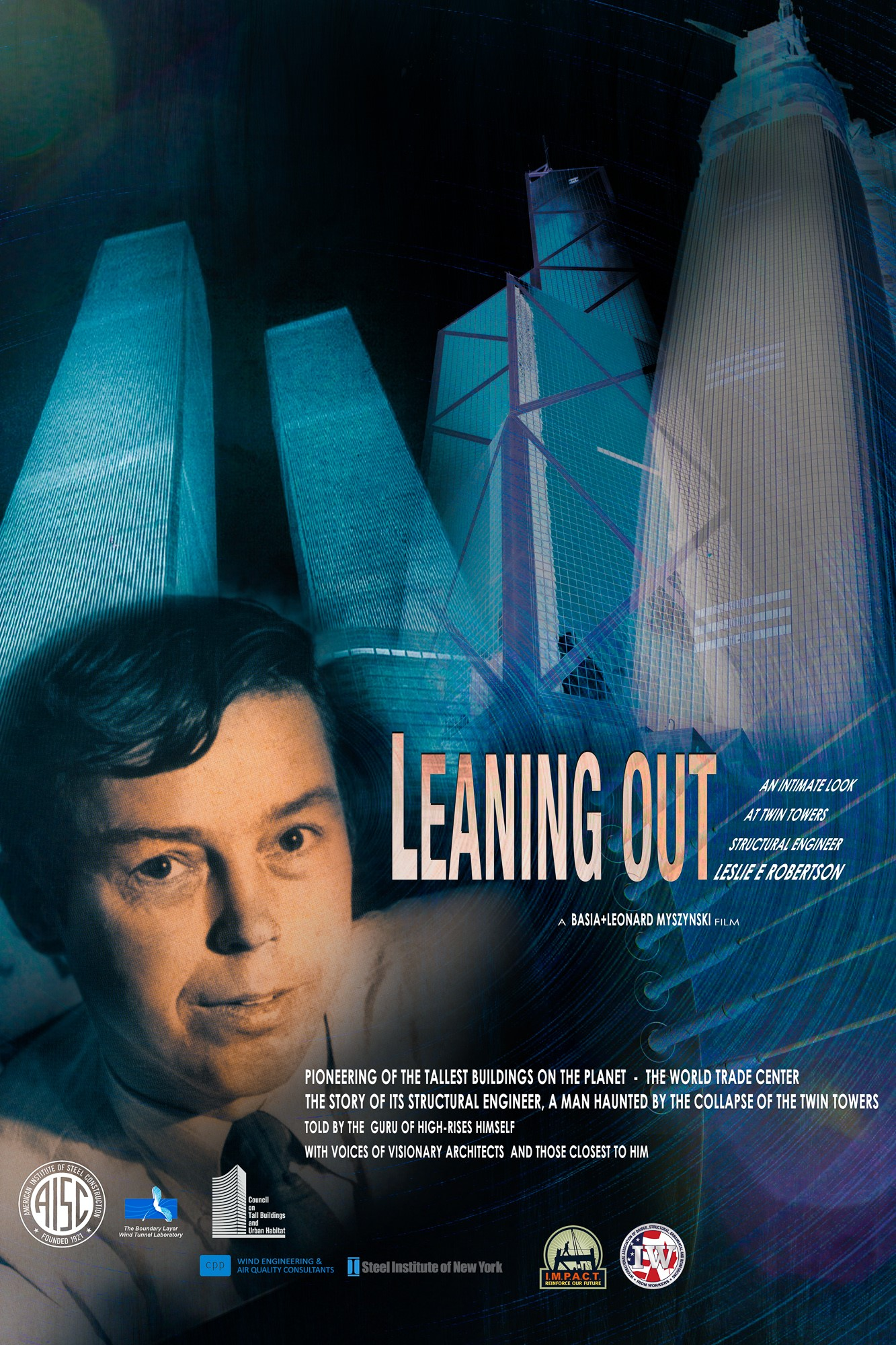 Poster of Leaning Out, a film created by Basia + Leonard Myszynski